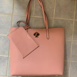 KATE SPADE SUZY NORTH SOUTH LARGE TOTE HANDBAG
